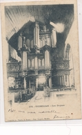 CPA 376. Guimilian Les Orgues 1903 Circulée Timbre Karten Bost Imprimé Tampon - Guimiliau