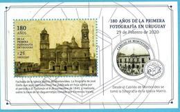 Uruguay 2020 ** HB  180 Años De La Primera Fotografía Uruguaya. - Fotografía