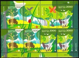 Europa Cept - 2011 - Belarus, Wit Rusland - 1.Sheetlet Of 3 Set (Forests) ** MNH - 2011