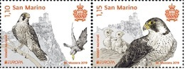 EUROPA CEPT - 2019 - San Marino - (National Birds) ** MNH - 2019