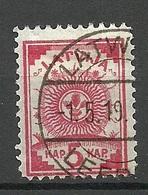 LETTLAND Latvia 1919 Michel 7 A O - Lettonie