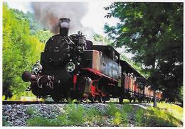 CPM -(46) Prés De La Gare Martel -à Tout Vapeur Au Départ De St.Denis-prés Martel. (Photo R. Fossier) - Autres Communes
