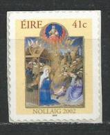Irlande 2002 N°1480 Neuf ** Noël Adhésif - Unused Stamps