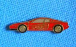 1 PIN'S //  ** COUPÉ SPORT / FERRARI  TESTAROSSA ** - Ferrari