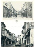60700 PONT-SAINTE-MAXENCE - Repro Cp Ancienne Et Photo Moderne - Carte D'entrée Au Salon De 1992 - Pont Sainte Maxence