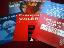 FRANCOIS  VALERY   °  COLLECTION  DE  11 VINYLES - Collections Complètes