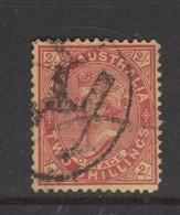 Australia-Western Australia SG 124 1902-12 Two Shillings Red-yellow Perf 12,used - 1854-1912 Western Australia