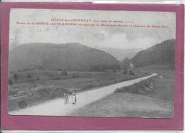 39 .- CHAUX-DES-CROTENAY - Route De La Chaux Aux Planches - France