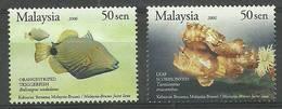 Malaysia 2007 Mi 1433-1434 MNH ( ZS8 MLY1433-1434 ) - Peces