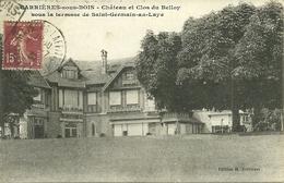 78  CARRIERES SOUS BOIS - CHATEAU ET CLOS DU BELLOY ..... (ref 8769) - Autres Communes