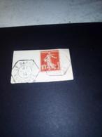 Cachet Recette Rurale 1914  LE BARROUX Vaucluse TB N°138 - Poststempel (Einzelmarken)