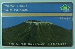 TANZANIA - L&G - 302A - 50 Units - Kilimanjaro - Mint - Tanzania