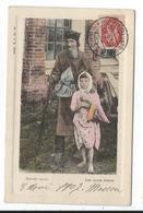Russie , Les Types Russes , Vieil Homme Et Enfant - Russie