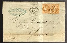 28856 - BORDEAUX En Paire - 1849-1876: Classic Period