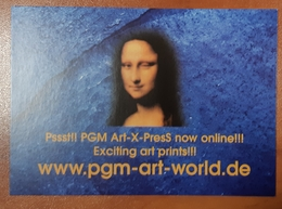 Art World Monna Lisa Carte Postale - Pin-Ups