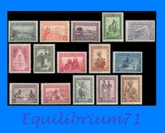 92/106** - Scènes Indigènes, Animaux & Paysages / Inheemse Mensentypen, Landschappen & Dieren - RUANDA URUNDI - 1924-44: Mint/hinged