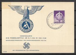 Deutsches Reich - Post Card -  1942 - Germania