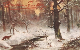 """Harry Paye. The Brook"" Tuck Oilette Glorious Winter SeriesPC # 9569 - Tuck, Raphael"