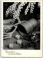 52454285 - Pilz Geld Neujahr - Cartoline