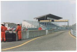 Circuit Zandvoort: 4x OPEL ASCONA B, TOYOTA STARLET P7 - Hoofdtribune - (Racing) - Holland - 1994 - Toerisme