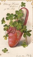 """Shoe With Flowers"" Tuck Birthday Greetings Series PC # 4500 - Tuck, Raphael"