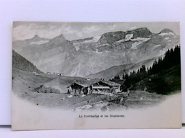 Seltene AK La Comballaz Et Les Diablerets; Um 1900 - Non Classés