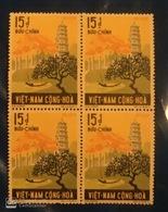 Block 4 Of South Viet Nam Vietnam MNH Stamps 1974 - Vietnam