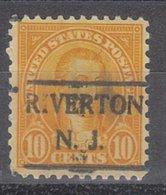 USA Precancel Vorausentwertung Preo, Locals New Jersey, Riverton 642-492 - Vereinigte Staaten