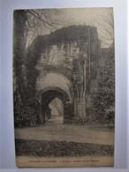 FRANCE - SOMME - SAINT VALERY SUR SOMME - L'Abbaye - Ruines De La Chapelle - 1919 - Saint Valery Sur Somme