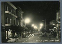 °°° Cartolina - Porto S. Giorgio Viale Buozzi Viaggiata °°° - Ascoli Piceno