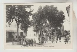 LOT 23022083 CPSM COUIZA (Aude) - Place De La République Avenue De Quillan - Otros Municipios