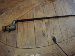 Baionnette à Douille  Modele 1777 - Armas De Colección