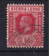 Sierra Leone: 1912/21   KGV     SG113a     1d   Scarlet   Used - Sierra Leone (...-1960)
