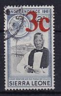 Sierra Leone: 1964/66   Decimal Currency - Surcharge    SG340     3c On 2d      Used - Sierra Leone (1961-...)