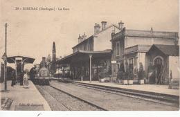 24 RIBERAC La Gare - Riberac