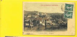 """LABASTIDE-CLAIRANCE Colorisée """"toilée"""" Vue Générale (Cazenave Et Dubosq) Pyrénées Atlantiques (64) - Autres Communes"""