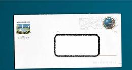 PAPcoupe Du Monde 98 Sur Enveloppe AMBON Morbihan,flamme Muzillac - Entiers Postaux