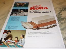 ANCIENNE PUBLICITE  GELATI DE MOTTA USINE ARGENTA 1963 - Affiches