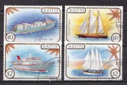 St. Kitts Used Set - Ships