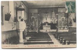 Saint Claude Huissel - Intérieur De L' Eglise  - Kerk Church - Ed A Déal - France
