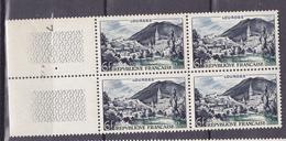 N° 976 Série Touristique Lourdes: : Beau Bloc De 4 Timbres Neuf Sans Charnière - Ongebruikt