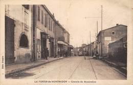 20-2550 : LE FORTIN DE MONTREDON.  CHEMIN DE MONTREDON MARSEILLE. LIGNE DE TRAMWAY ELECTRIQUE. - Marseille