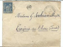 FRANCE: LSC  De Grenade-sur-l'Adour Du 3-4-87 Pour Cazères-sur-l'Adour (Landes) - Briefe U. Dokumente