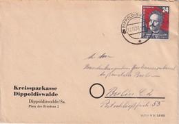 DDR 1951 LETTRE DE DIPPOLSWALDE - [6] République Démocratique