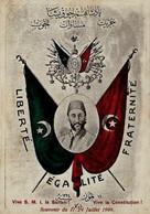 PHOTO : TURKEY : OTTOMAN PERIOD - VIVE S.M.I. LA SULTAN - VIVE LA CONSTITUTION , Reproduction; 2 Scans - Personnes
