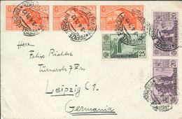 Firenze Florenz 1931 - Antonius Von Padua - Brief Nach Leipzig - Cristianesimo