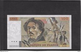 France 100 Francs Delacroix - Neuf - 1980 - Fayette 69-4a - 100 F 1978-1995 ''Delacroix''