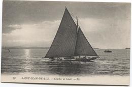 Saint-Jean-de-Luz  Coucherde Soleil - LL - Sailing Boat -  Zeilboot Oude - Saint Jean De Luz