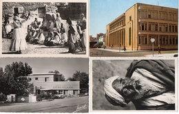 4 CPSM -  Danse D' Ouled Näils - BONE (La Poste) CASTIGLIONE (Dispensaire) Type Arabe  (118108) - Algérie