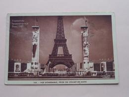 EXPO Int. 1937 ( Edit H. CH.... / 163 ) Vue D'Ensemble, Prise Du Champ-de-Mars ( Zie / VOIR Photo > Detail ) ! - Expositions